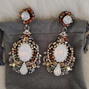 Beaded Earrings, Pierced